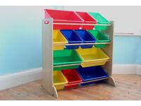 KidKraft 12 Bin Toy Shef Storage Organiser