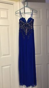 Prom dress evening gown - size 2