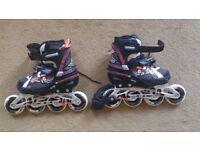 roller blade m 35-38 black