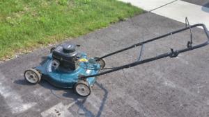20 inch gas lawn mower