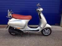 1999 VESPA ET4 125 , LOW MILES , 12 MONTHS MOT PX TO CLEAR