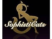 Receptionist - Hostess for Sophisticats Gentleman's Club