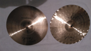 "Cymbale Paiste Precision Sound Edge Hi-Hat 14"" Cymbal Drum"