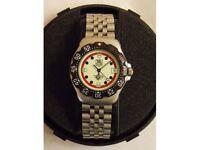 Mans Tag Heuer Lumi Mercedes F1 quartz sports watch model WA1211 original tag not a copy