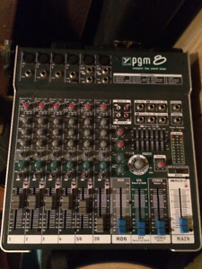 8 Channel Yorkville MIxing board