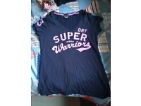 Superdry women's top (size small)