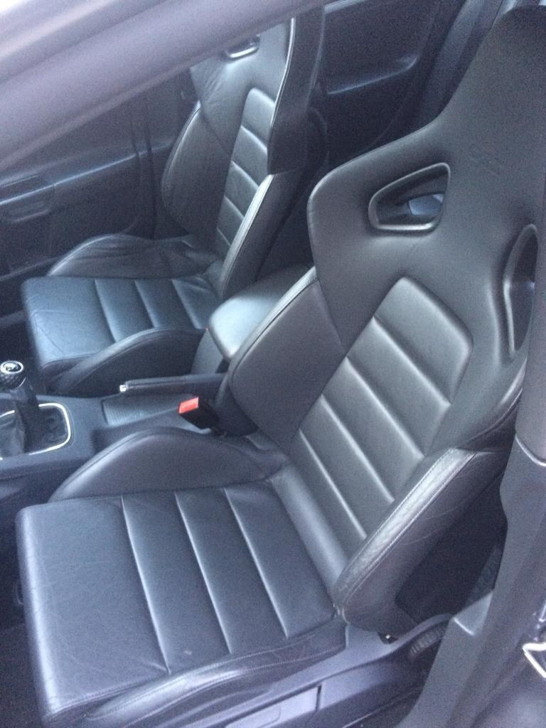Golf Gti Mk5 Leather Recaro Seats Gti Tdi Ed30 R32 S3 Leon