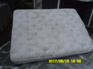 Camper mattress with built in box spring