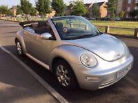 Silver Beetle Convertible 1.9 TDI