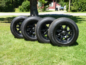18 inch Michilin Tires and rims off of 2015 Yukon SLT