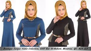 Robe Abaya Hijab Jilbab Musulmane Muslim Islamic Wear Dress