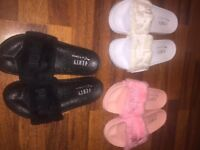 NEW Fenty Puma Sliders/ Slippers By Rihanna/ all sizes/ 3 colours