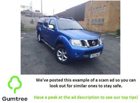 2013 Nissan Navara dCi Tekna 4x4 AUTOMATIc -- Read the description before replying to the ad!!