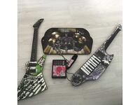 Paper Jamz Bundle - Guitar, Drums, Keyboard Guitar and Microphone Justin Bieber Keyboard