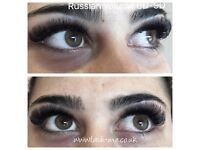 Russian volume 3D-9D eyelash extensions, Mink eyelashes