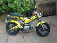 Sachs Madass 125, 2006, Yellow, 3,100 miles, MOT Aug 2018, 3rd owner (owned by me since Jan 2008)