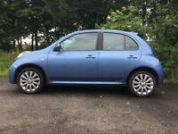 2007 Nissan Micra FACELIFT EDITION 1.2 16v tekna 5dr (1 years full MOT) Ready to drive away today