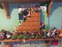 Nintendo Amiibo collection for Wii u and Switch