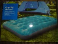 Double Airbed - flocked BNIB