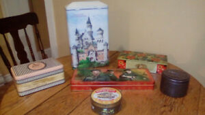 Vintage/collectable tin's