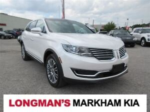 2016 Lincoln MKX Reserve One Owner