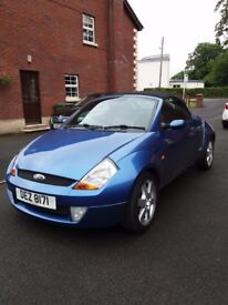 2004 Ford Street Ka Luxury Convertible, 1.6 Petrol 18,000 miles