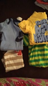 0-3 month boy clothes lot