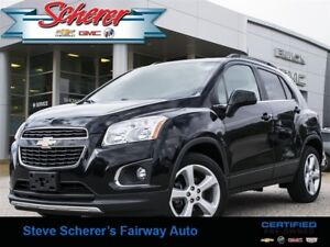 2015 Chevrolet Trax LTZ 1 OWNER AWD