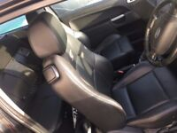 Fiesta ST150 Front & Rear Seats Black Heated Leather interior