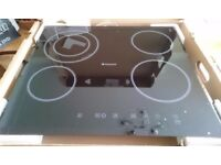 Hotpoint CRC641DB Ceramic Hob in Black