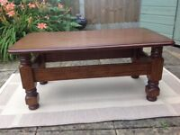 Large, solid Wood Coffee Table in immaculate condition.
