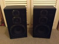 80W JVC SP-E300 Speakers in excellent condition throughout