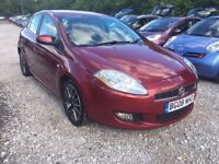 Fiat 1.4 Bravo Hatchback 5dr, LADY OWNER. 1 YEAR MOT. HPI CLEAR. SERVICE HISTORY. P/X WELCOME