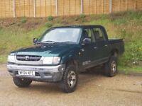Toyota Hilux 2.5 TD 280 MWB Double Cab (2004/04 Reg) + DIESEL + GENUINE 138K + DOUBLE CAB + NO VAT +