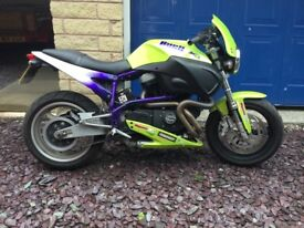 Buell X1 2001 very low mileage