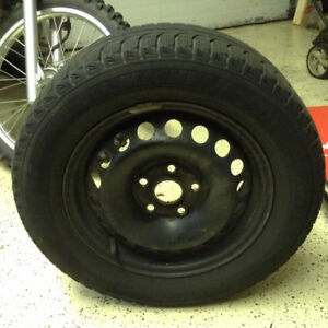 195/65R15 Rims and Tires - Jetta