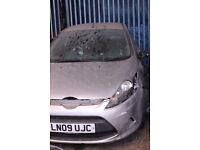 Ford Fiesta, grey colour, 5 doors, 2009 year, Breaking and selling for parts QUICK sale