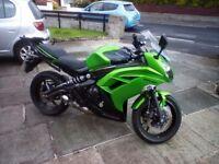 Kawasaki er6f 2012