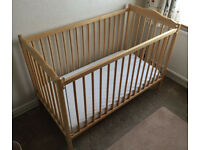 Mothercare Ascot Cot.