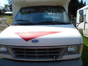 1993 Ford F-350 Minivan, Van