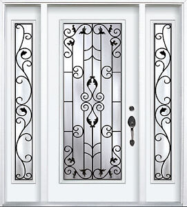 Front Entry Door and Two SideLights 7