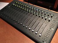 AVID S3 DAW studio controller Eucon control surface
