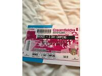 Creamfields Bronze 3 Day Camping Ticket (Friday-Sunday)
