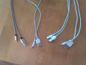 Apple lightning chargers