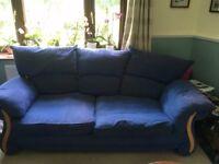 2 sofas, 1 3 seater, 1 2 seater.