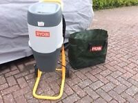 Ryobi mulcher with bag - used once. Cost £240, selling for £65