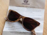 Wooden Framed Moats Sunglasses
