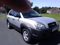 07 hyundai tuscon crtd gsi jeep 4wd mint fsh Daleys/Charles Hurst mobility car mot,d driving perfect