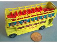corgi london transport routemaster disney