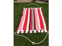 Pink stripy very well make Hammock